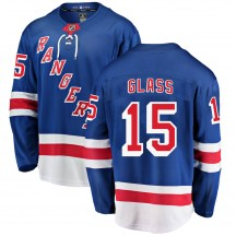 New York Rangers Youth Tanner Glass Fanatics Branded Breakaway Blue Home Jersey